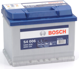 BOSCH S4 006 12V 60Ah auto accu