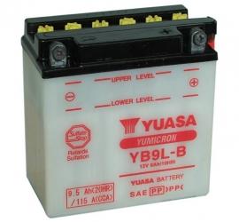 Yuasa Yumicron motor accu 12V 9Ah YB9L-B