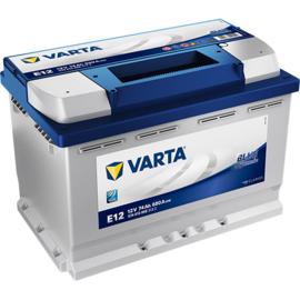 VARTA Blue Dynamic E12 auto accu 12V 74Ah 574013068