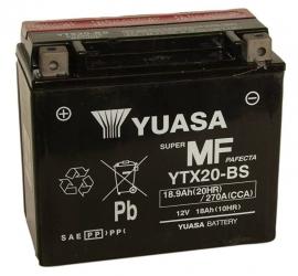 Yuasa Maintenance Free motor accu 12V 18Ah YTX20-BS