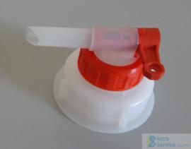 Jerrycan dop kraan DIN61 - 61 mm