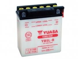 Yuasa Yumicron motor accu 12V 5Ah YB5L-B