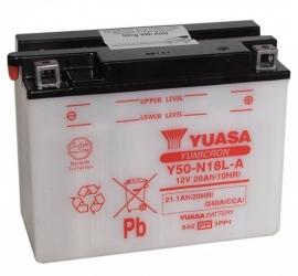 Yuasa Yumicron motor accu 12V 20Ah Y50-N18L-A