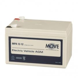 MOVE MPA 12-12 12V 12Ah AGM accu