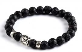 Buddha lava kralenarmband