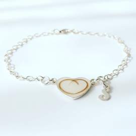 Heart of dna armband