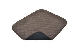 Waterdichte stoelbeschermer voor incontinentie bruin - PR52250-BR