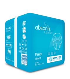 Wegwerp incontinentiebroek voor licht tot matig urineverlies - Absorin Comfort Pants Slimfit