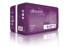 Wegwerp incontinentiebroek voor zeer zwaar urineverlies - Absorin Comfort Pants Super
