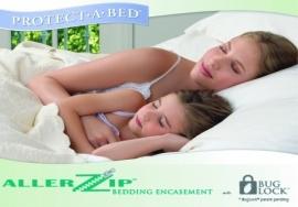 Matrasbeschermer voor het gehele matras (incontinentie, huismijt en bedluis)