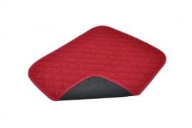 Waterdichte stoelbeschermer voor incontinentie, rood incontinentiematje voor uw stoel