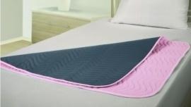 Wasbare matrasbeschermer incontinentie met instopstroken, 70 x 90 cm