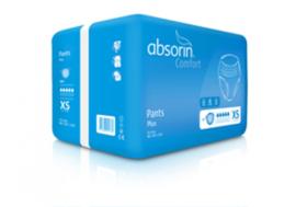 Wegwerp incontinentiebroek voor matig urineverlies - Absorin Comfort Pants Plus