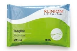 Wassen zonder water, washand Klinion Personal Care - 3500