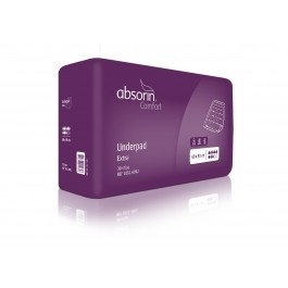 Wegwerp onderlegger Absorin van 60 x 90 cm met absorptie van 2000 ml