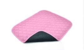 Waterdichte stoelbeschermer voor incontinentie, roze incontinentiematje voor uw stoel