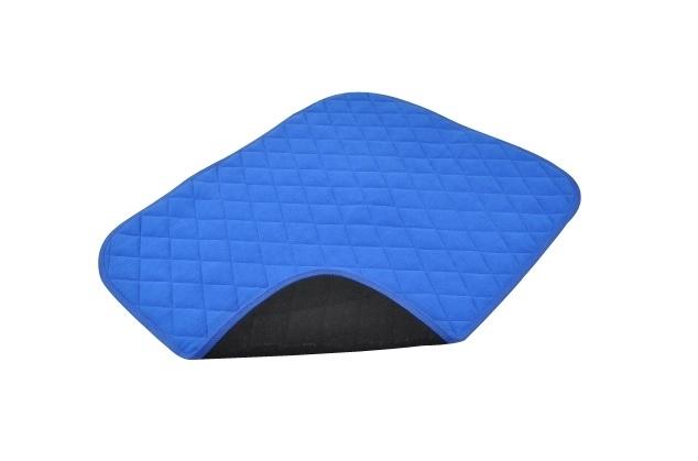 Waterdichte stoelbeschermer voor incontinentie, blauw incontinentiematje voor uw stoel