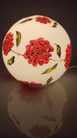 Lamp 76 Krans van rode rozen