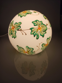 Lamp 10 groene bloemenslinger