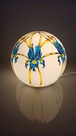 Lamp 77 Art Nouveau Blauwe Iris