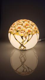 Lamp 80 Witte bloemen