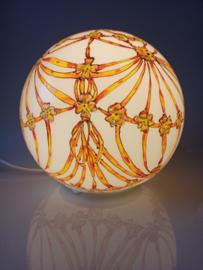Lamp 27 Lintenvlechtwerk geel