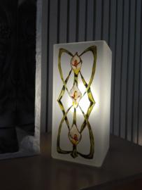 Bloklamp Aronskelk Art nouveau
