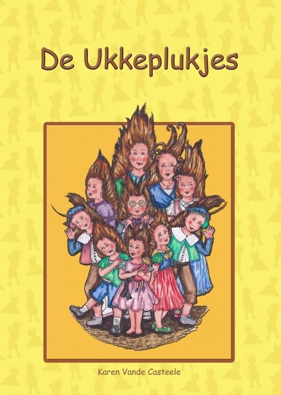 Boek De Ukkeplukjes zoekboekje