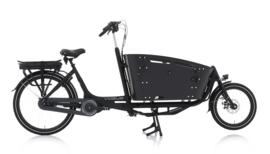 Vogue Carry tweewieler bakfiets mat zwart