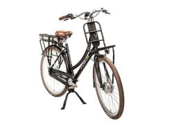 Vogue Elite elektrische fiets mat zwart 7V