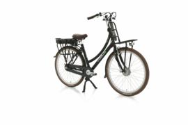 Vogue Elite elektrische fiets mat zwart 3V