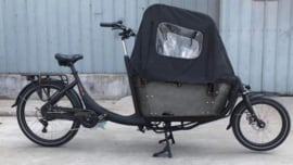 Vogue Superior elektrische tweewieler bakfiets zwart