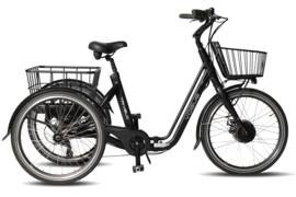 Vogue E-bike, Tri Velo, Amk 7 DR, Mat zwart