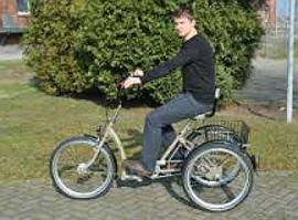 Pfau-Tec Pfiff Comfort  driewieler