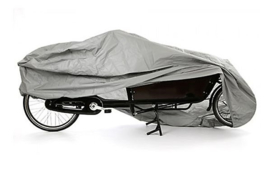 Vogue Carry tweewieler bakfiets mat zwart