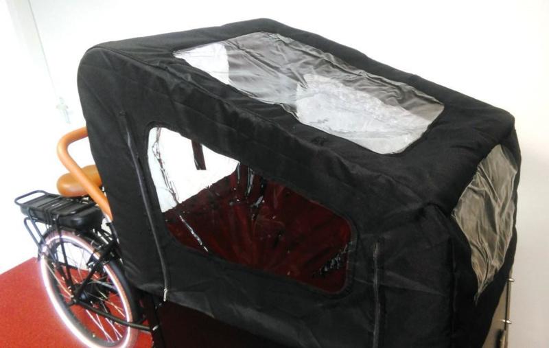 Huif Troy elektrische bakfiets