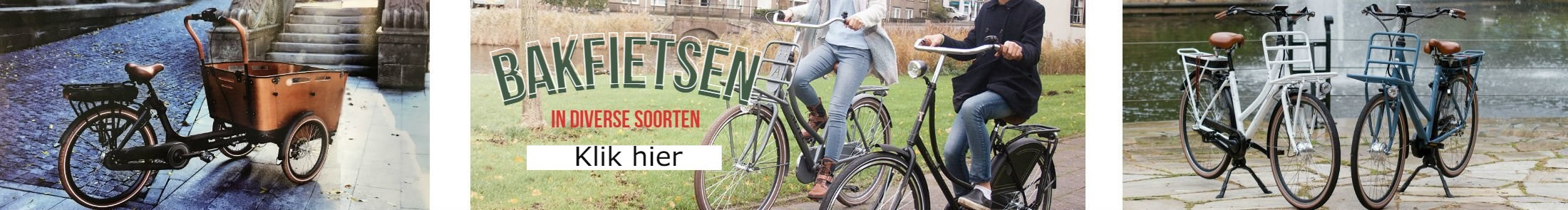 Bakfiets Almere
