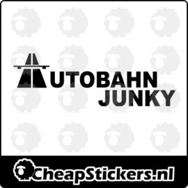 AUTOBAHN JUNKY STICKER