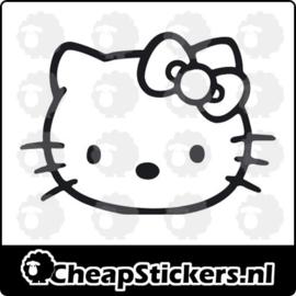 HELLO KITTY FACE STICKER