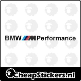 BMW M PERFORMANCE RAAMBANNER