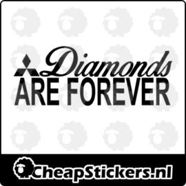 DIAMONDS FOREVER STICKER