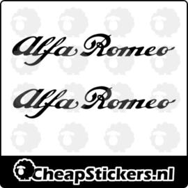 ALFA ROMEO REMKLAUW STICKERSET