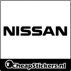 NISSAN TEKST STICKER