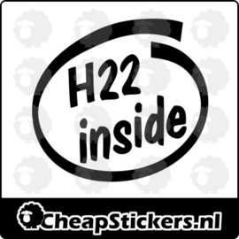 H22 INSIDE STICKER