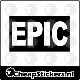 EPIC STICKER