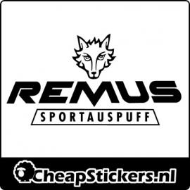 REMUS LOGO STICKER