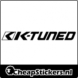 K-TUNED LOGO STICKER
