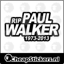 RIP PAUL WALKER STICKER