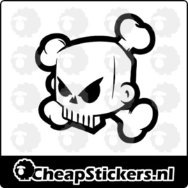 KEN BLOCK SKULL STICKER