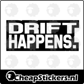 DRIFT HAPPENS STICKER